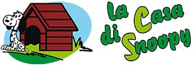 la casa di snoopy shop on line logo 1448901973